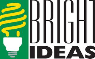 ligtbulb, bright ideas