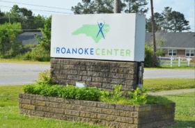 roanoke center sign